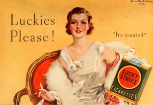 Photo By Lucky Strike Cigarettes, April 1933 | Flickr - Photo Sharing!