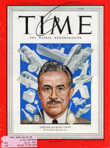 Photo By Raymond Loewy on cover of Time Magazine, 1949 | Flickr - Photo Sharing!