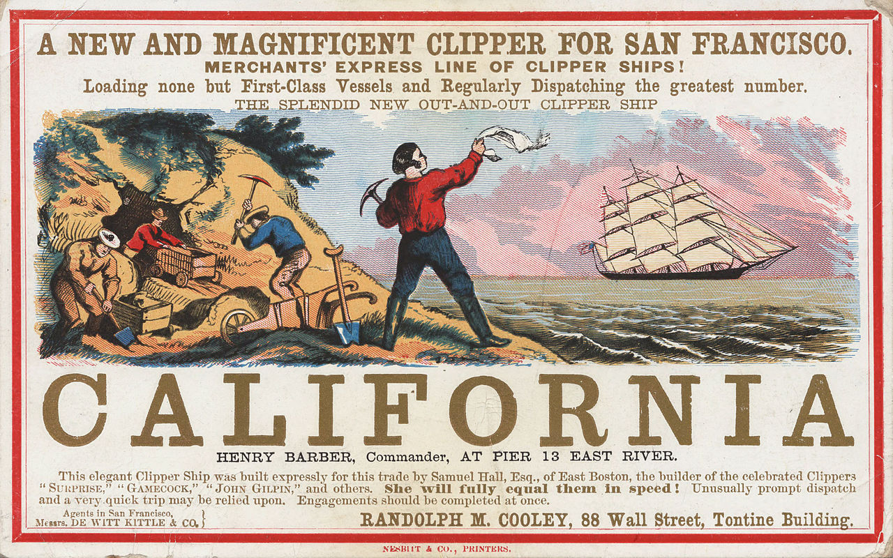 Photo By California Clipper 500 - California Gold Rush - Wikipedia, the free encyclopedia