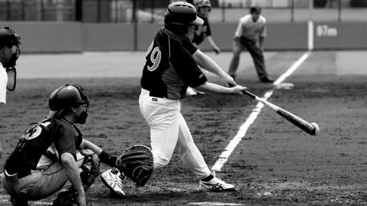 野球シーン
