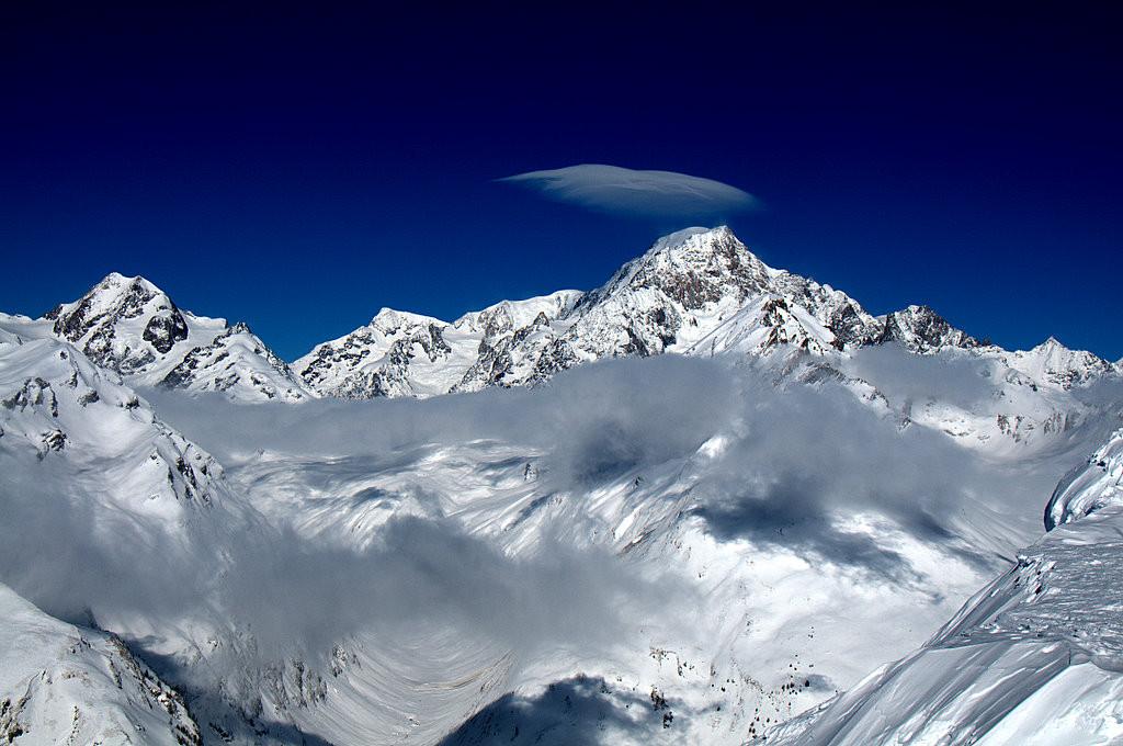 モンブラン山