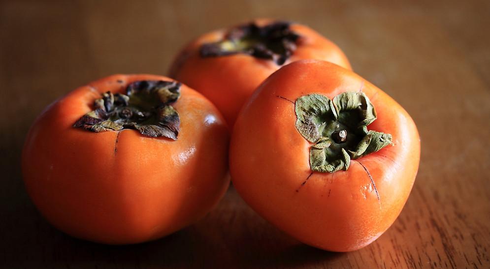 秋の果物「柿」