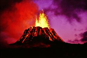 キラウエア火山の噴火
